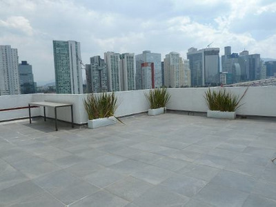 Ph En Renta Sta Fe, Hermoso Roof Garden Privado