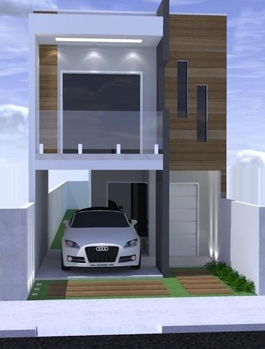 Imagem 1 de 9 de Projeto 3qtos - Arq+hidr+eletr+aprovação Prefeitura Ea-130