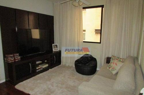 Apartamento Com 2 Dormitórios À Venda, 100 M² Por R$ 395.000,00 - Boa Vista - São Vicente/sp - Ap2311
