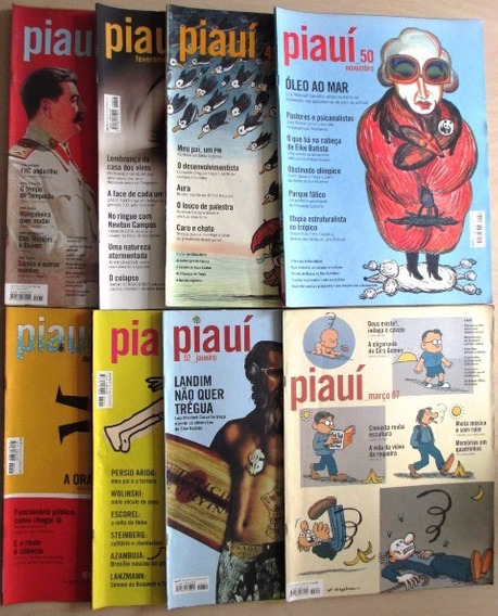 B9780 Revista Piauí - Complete Sua Coleção. Veja Numeração