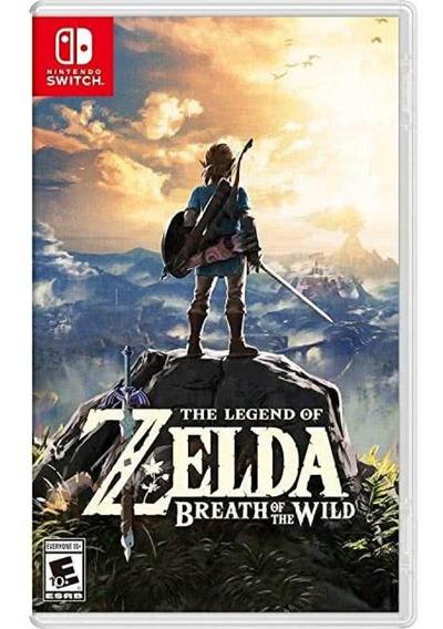 Legend Of Zelda Breath Of The Wild Nintendo Switch Seminovo