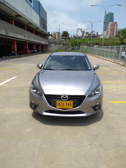 Mazda 3 2016 Touring Mecanico 15.000 Kms, Cojineria En Cuero