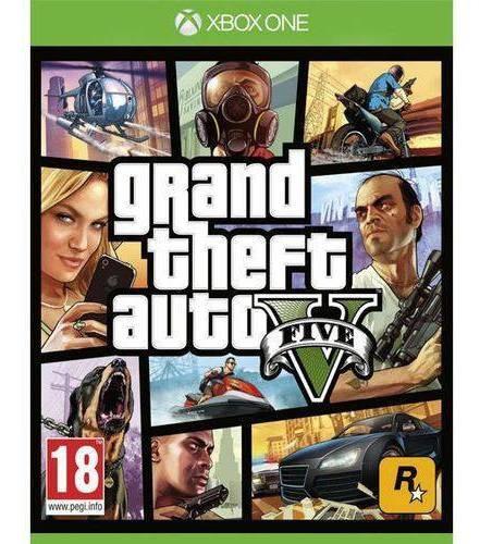 Jogo Grand Theft Auto V Gta Xbox One Mídia Física Lacrado