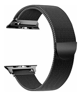 Pulseira Aço Inox Milanese Loop Para Apple Watch 38mm 40mm