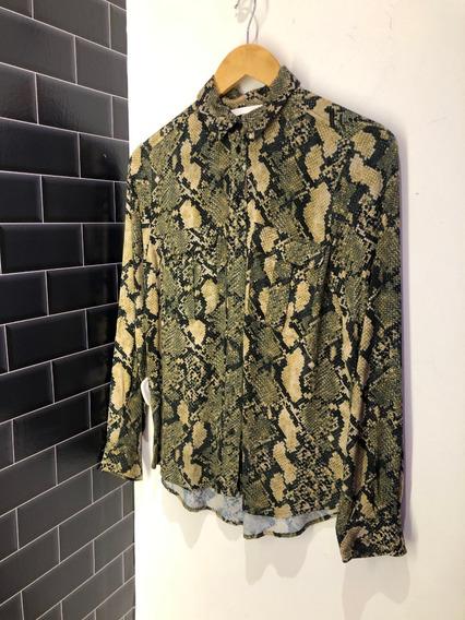 Camisa H & M De Mujer Importada, Estilo Gucci, Moda2020