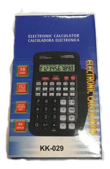 Atacado! Kit 10 Calculadoras Científica Kk 029. 56 Funções.