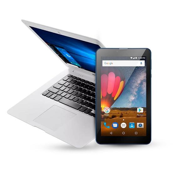 Notebook Legacy Cloud + Tablet M7 Plus Multilaser Bvolt