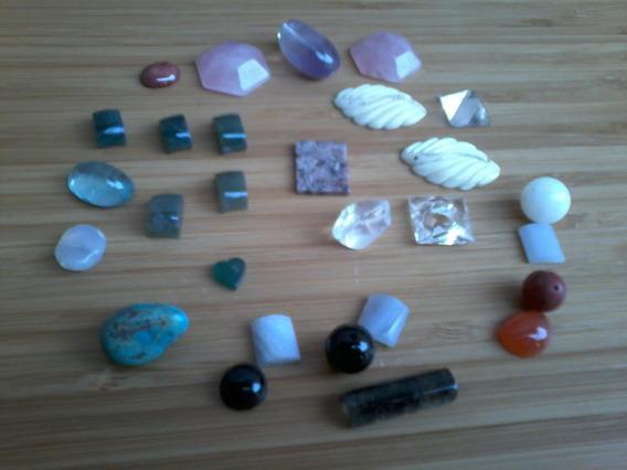 Lindo Lote De Pedras Naturais Diversas Peso 50,2 Gramas
