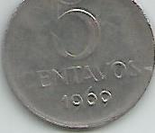 Moeda 5 Centavos 1969