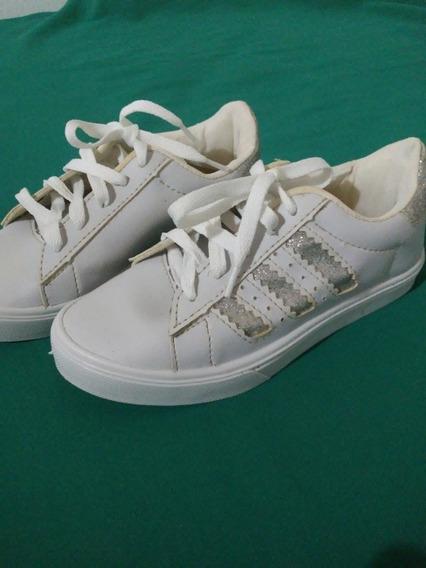 Tênis adidas Branco Tm:33