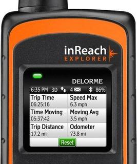 Delorme Inreach Explorer Satellite Messenger