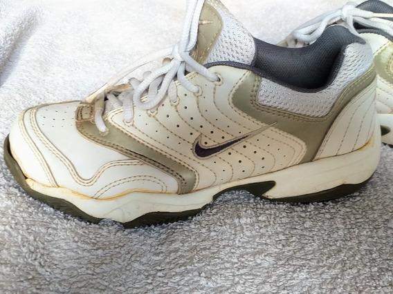 Zapatillas Nike Cuero - Mujer - Talle 37