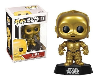 Funko Pop Star Wars 13 C-3po Robot Dorado