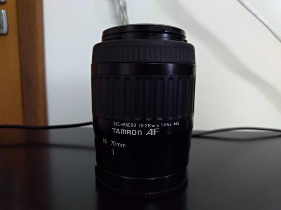 Lente Tamron 70-210 Mm 1:4-5.6 Af A-mount
