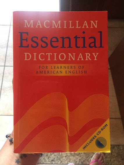 Dicionário De Ingles. Essential. Cd Não Está Incluso.