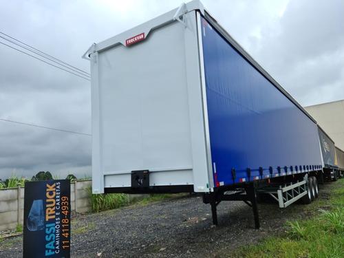 Carreta Bau Sider 30 Pallets Ano 2021 Truckvan 0km 12 Pneus