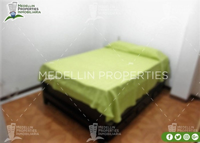 Arrendamiento Amoblados Por Meses Medellín Cód: 4265