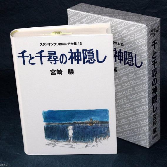 Livro A Viagem De Chihiro Studio Ghibli - Storyboard Jp