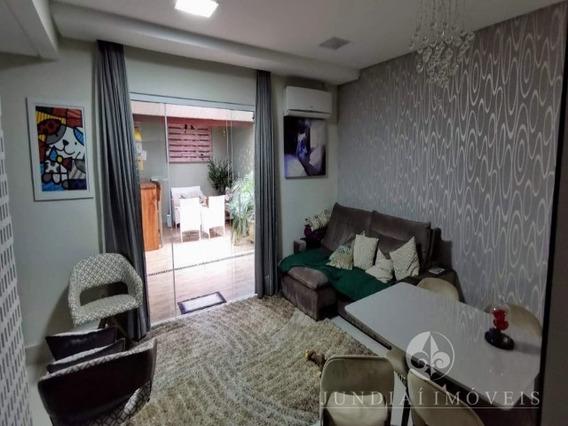Vendo Ótima Casa No Residencial Verdana No Bairro Medeiros Em Jundiaí, 106 M², 03 Dormitórios (01 Suíte C/ Ar Condicionado, Sacada, Espaço Gourmet, 02 Vagas, Lazer Completo No Cond - Ca00403 - 347956