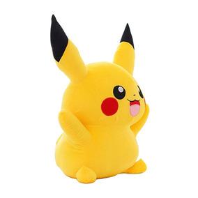 Pikachu Boneco Pelúcia 40cm Pokémon Anime Pronta Entrega