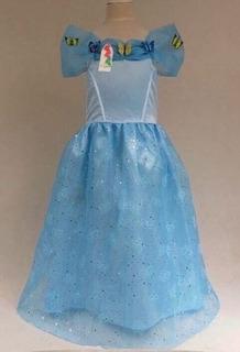 Fantasia Vestido Cinderela Cinderella - P Entrega