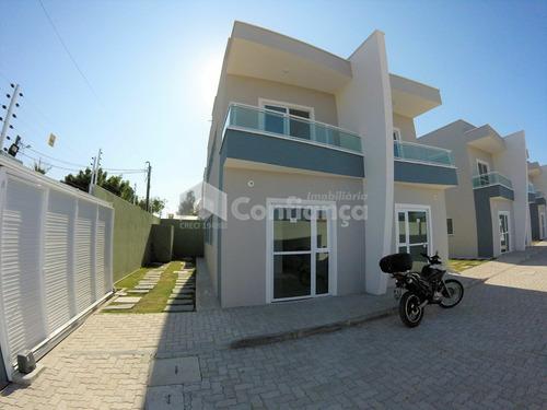 Imagem 1 de 17 de Casa Duplex Em Condomínio No Pacheco - 268