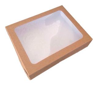 25 Cajas Caple P/ Galleta Chica 18x14x4cm (royalicing)
