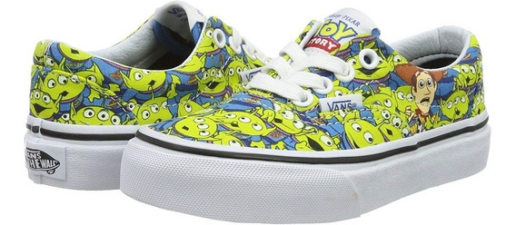 Vans Toy Story Disney Pixar Zapatillas Vans Fosforescentes