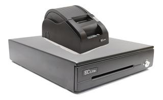 Kit Punto De Venta Ec Line Cajon Dinero Mini Printer