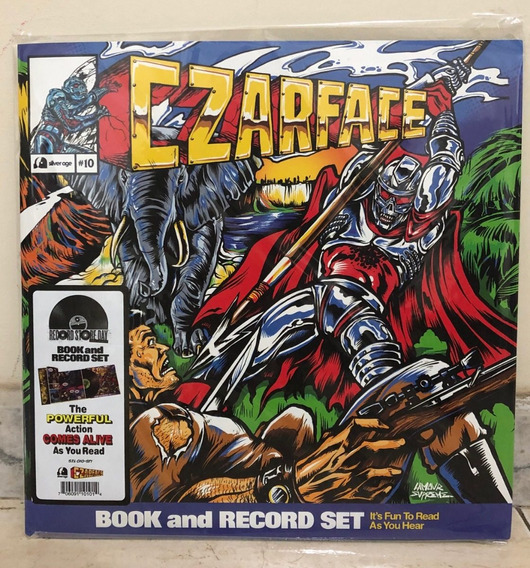 Czarface Double Dose Of Danger Lp Importado