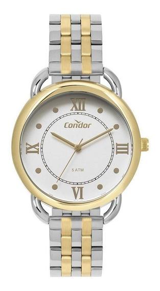 Relógio Condor Feminino Co2035mpr/5k Bicolor - Promo C/ Nfe