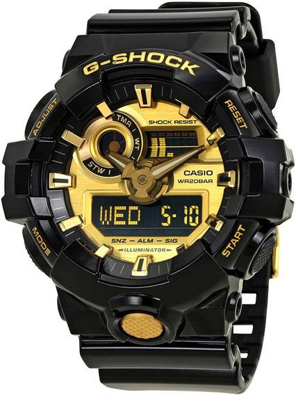 Reloj Casio G-shock Ga-710gb-1a - 100% Original En Caja