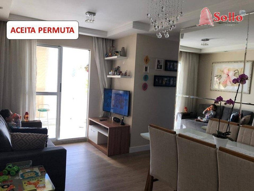 Apartamento 3 Dormitórios À Venda, 61 M² Por R$ 360.000 - Vila Endres - Guarulhos/sp - Ap0564