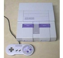 Super Nintendo Com 1 Controles E 1 Cartucho A Escolha