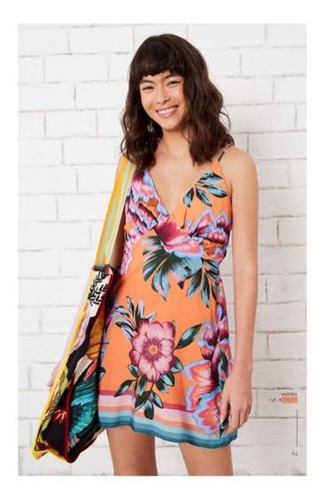 Vestido Farm Curto Flor Iris - 278317
