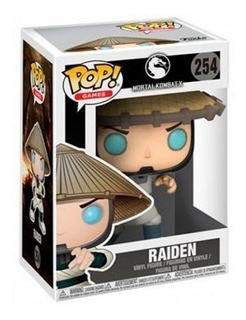 Funko Pop Mortal Kombat X 254 Raiden Nuevo Magic4ever