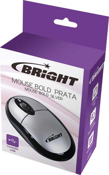 2 Mouse Optico Usb Espanha 800cpi Prata Bright/maxell Un