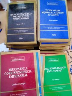 Biblioteca De Desarrollo Directivo 34 Tomos - Folio