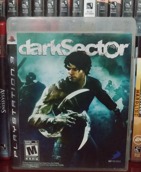 Dark Sector Original Ps3 Completo | Parcelamento Sem Juros