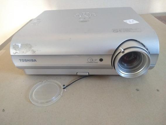 Projetor Toshiba Tdp S35 Para Retirada De Peças