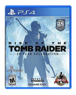 Rise Of The Tomb Raider Ps4 Nuevo Sellado Envio Gratis