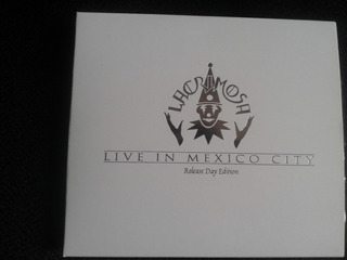 Lacrimosa Live In Mexico City Release Day Edition - White