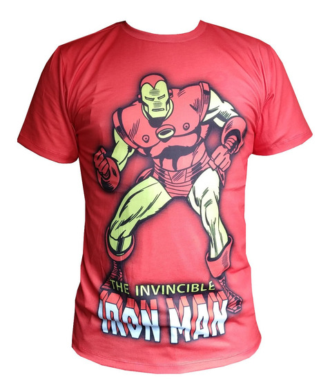 Camiseta Heróis Thor Hulk Homem De Ferro Aquaman Superman +
