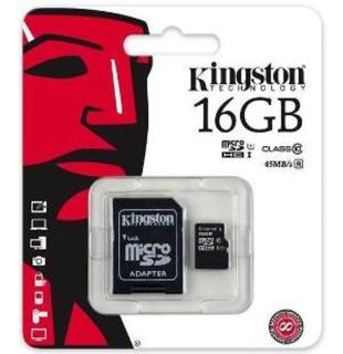 Cartão De Memória Microsd 16gb Kingston