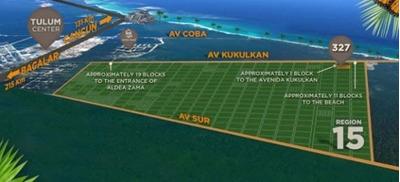 Terrenos En Venta Tulum, Region 15 La Veleta Para Desarrollar H2