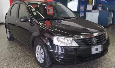 Renault Logan 1.6 Gnc Negro Impecable 4 Puertas
