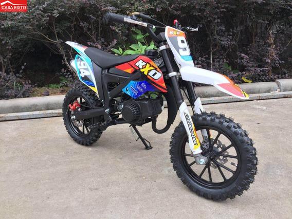 Moto De Niño A Gasolina Kxo 50cc Tipo Cross
