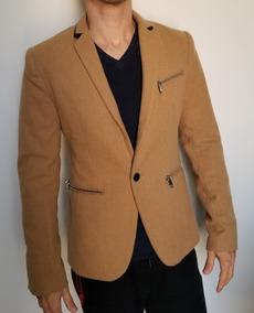 c8e07ca936 Blazer Casaco Guess Marrom Claro Original Slim Importado Mas