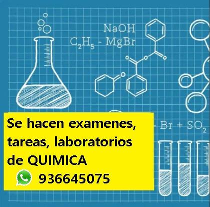 Examen, Tareas Química, Termodinámica, Fisicoquimica, Física