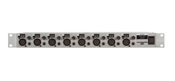 Pré-amplificador Phonic Firefly Ada 8 Com 8 Canais